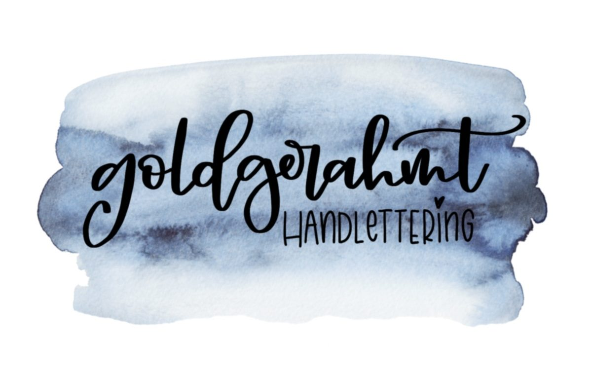 goldgerahmt | Handlettering